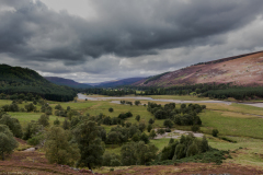 View point enroute to the Linn O' Dee.